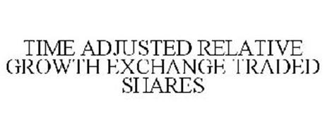 TIME ADJUSTED RELATIVE GROWTH EXCHANGE TRADED SHARES