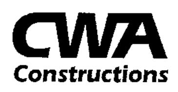 CWA CONSTRUCTIONS