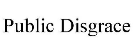 PUBLIC DISGRACE Trademark of CyberNet Entertainment LLC