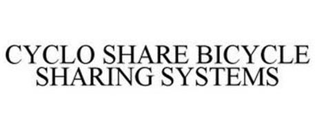 CYCLO SHARE BICYCLE SHARING SYSTEMS