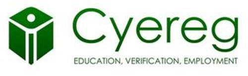 CYEREG EDUCATION, VERIFICATION, EMPLOYMENT