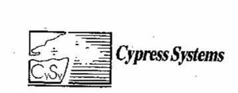 CYSY CYPRESS SYTEMS