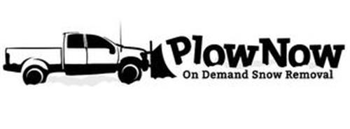 PLOW NOW ON DEMAND SNOW REMOVAL