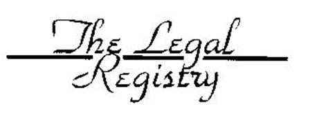 THE LEGAL REGISTRY