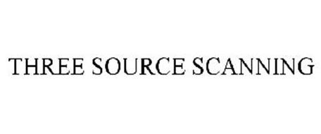 THREE SOURCE SCANNING