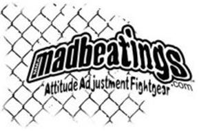 MMA MADBEATINGS ATTITUDE ADJUSTMENT FIGHTGEAR