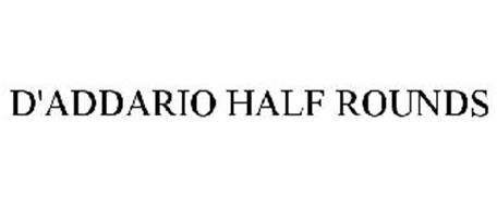 D'ADDARIO HALF ROUNDS