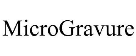 MICROGRAVURE