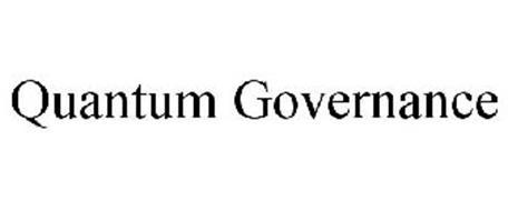 QUANTUM GOVERNANCE