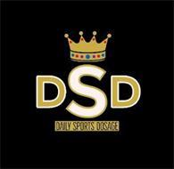 DSD DAILY SPORTS DOSAGE