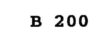 B 200