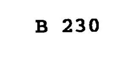 B 230