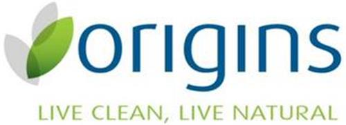 ORIGINS LIVE CLEAN, LIVE NATURAL
