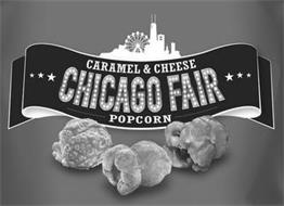 CARAMEL & CHEESE CHICAGO FAIR POPCORN