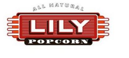 LILY POPCORN ALL NATURAL