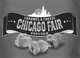CARAMEL & CHEESE CHICAGO FAIR POPCORN