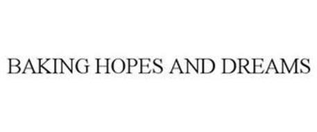 BAKING HOPES AND DREAMS