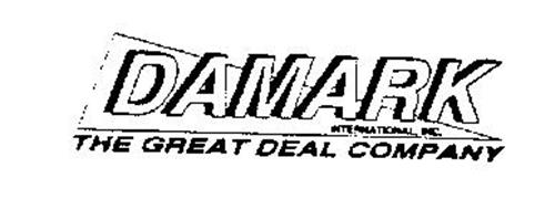 DAMARK INTERNATIONAL, INC. THE GREAT DEAL COMPANY