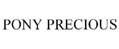 PONY PRECIOUS