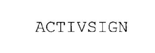 ACTIVSIGN