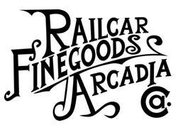 RAILCAR FINEGOODS ARCADIA CA.