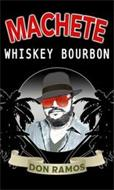 DON RAMOS MACHETE WHISKEY BOURBON