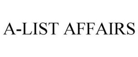 A-LIST AFFAIRS