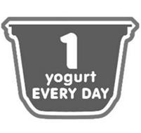 1 YOGURT EVERY DAY