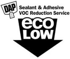 DAP SEALANT & ADHESIVE VOC REDUCTION SERVICE ECOLOW