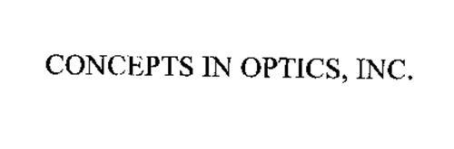 CONCEPTS IN OPTICS, INC.