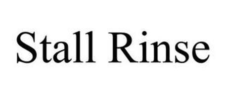 STALL RINSE
