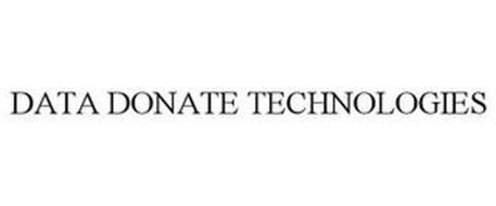 DATA DONATE TECHNOLOGIES
