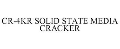CR-4KR SOLID STATE MEDIA CRACKER