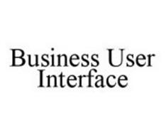 BUSINESS USER INTERFACE