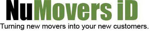 NUMOVERS ID TURNING NEW MOVERS INTO YOUR NEW CUSTOMERS.