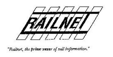 "RAILNET ""RAILNET, THE PRIME MOVER OF RAIL INFORMATION."""