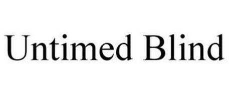 UNTIMED BLIND