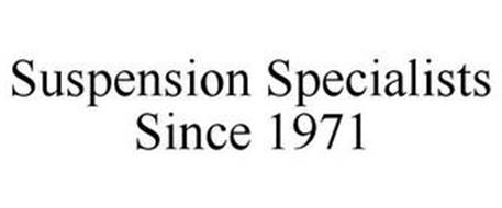 SUSPENSION SPECIALISTS SINCE 1971
