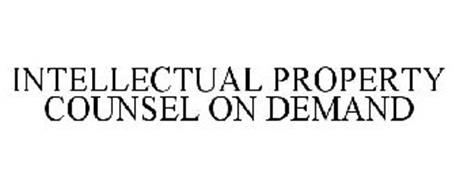 INTELLECTUAL PROPERTY COUNSEL ON DEMAND