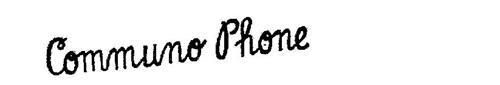 COMMUNO PHONE