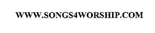 WWW.SONGS4WORSHIP.COM