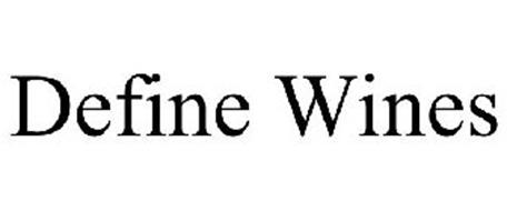 DEFINE WINES