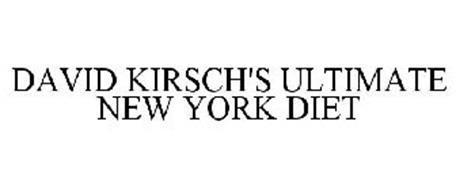 DAVID KIRSCH'S ULTIMATE NEW YORK DIET