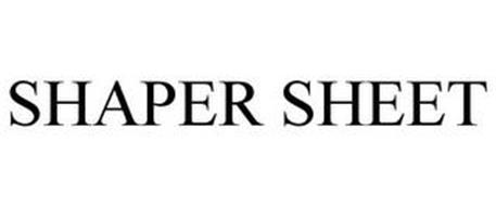 SHAPER SHEET