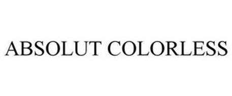 ABSOLUT COLORLESS
