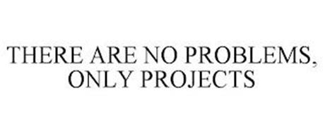THERE ARE NO PROBLEMS, ONLY PROJECTS