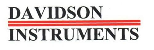 DAVIDSON INSTRUMENTS
