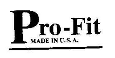 PRO-FIT MADE IN U.S.A.