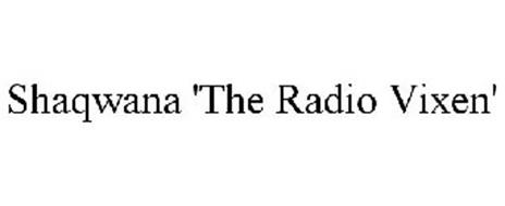 SHAQWANA 'THE RADIO VIXEN'