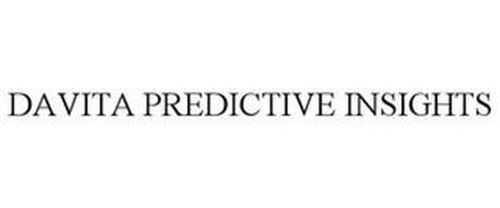 DAVITA PREDICTIVE INSIGHTS